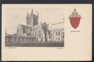 Herefordshire Postcard - Hereford Cathedral     RS14713
