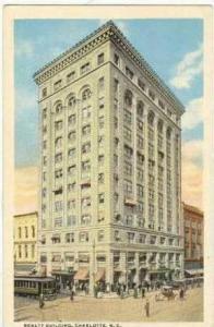 Realty Building, Charlotte, North Carolina, 1910-20s