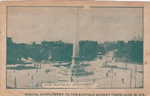 The McKinley Monument, Buffalo, New York, PU-1910