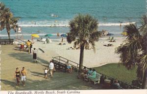 The Boardwalk , MYRTLE BEACH , South Carolina , 60-80s