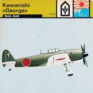 FICHA ARMAS: KAWANISHI GEORGE. 1943-1945