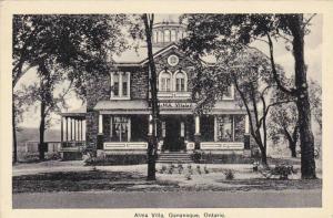 Alma Villa , GANANOQUE , Ontario , Canada , PU-1935