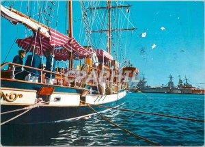 Postcard Modern Provence French Riviera Die Franzosische Riviere Toulon Prome...