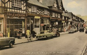 CHALFONT ST PETER , Buckinghamshire, England , UK , 1940s ; Market Place
