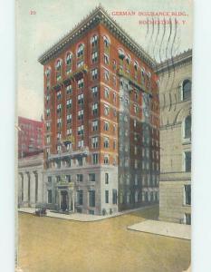 Divided-Back BUILDING Rochester New York NY ho2533