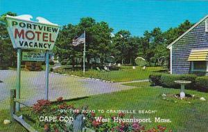 Massachusetts West Hyannis Post Portview Motel