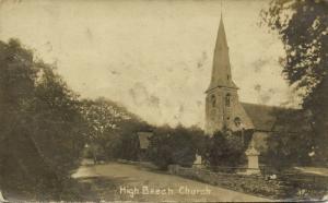 essex, HIGH BEECH, Church of Holy Innocents (1919) RPPC