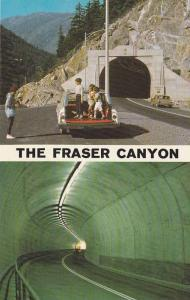 Tunnel , Fraser Canyon , B.C., Canada , 50-60s