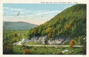 Three Mile Hill at Great Barrington MA, Massachusetts - Linen