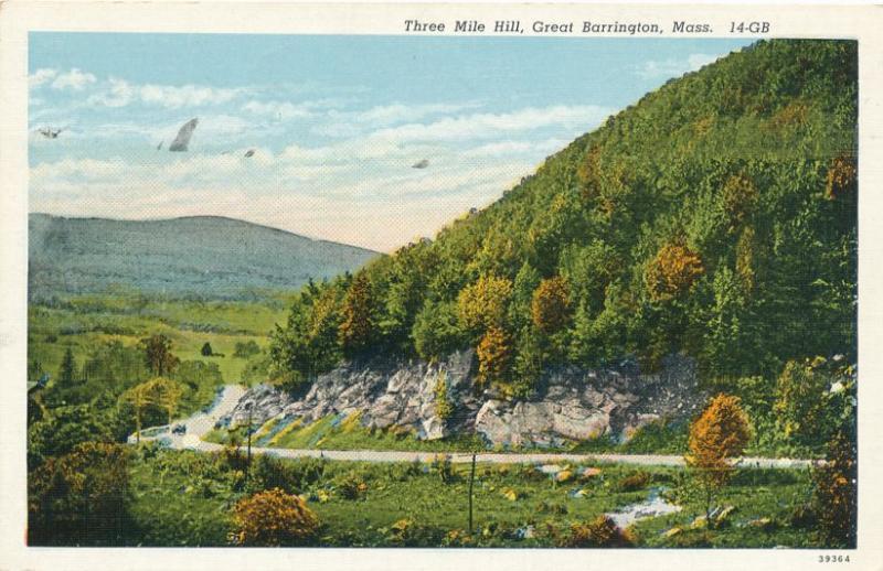 Three Mile Hill at Great Barrington MA, Massachusetts - Linen