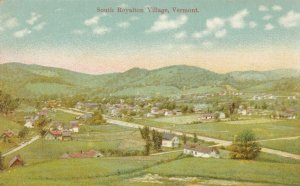 SOUTH ROYALTON , Vermont , 1900-10s