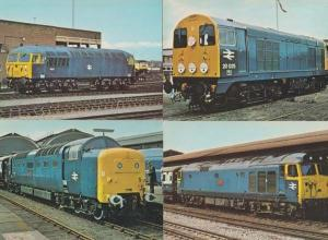 British Rail Class D220 Postcard Bundle incl 55 56 20 50 4x Diesel Train Photo