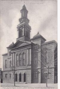 WASHINGTON , D.C. , 1900-10s ; First Presbyterian Church