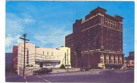 Auditorium & George Vanderbilt Hotel, Asheville, North Carolina, PU-1962