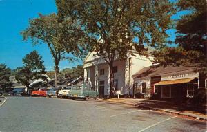 Stony Brook New York Post Office Street View Vintage Postcard K98046