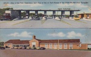 Ohio Turnpike One Of The Two Gateways And One Of The 15 Toll Plazas Of The 32...