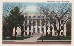 Kansas Garden City Court House 1948