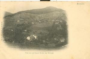 Bussang, Vue sur le Grand Hotel des Sources, early 1900s
