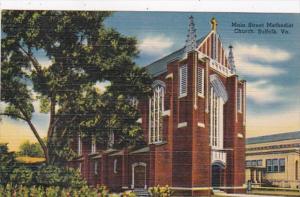 Virginia Suffolk Main Street Methodist Church
