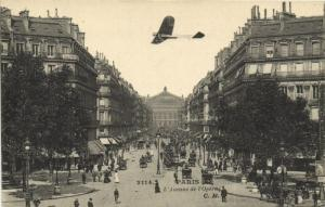 CPA Paris 2e (Dep. 75) Avenue de l'Opéra (57422)