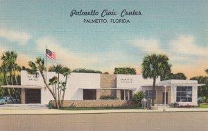 PALMETTO, Florida, 1930-1940's; Palmetto Civic Center