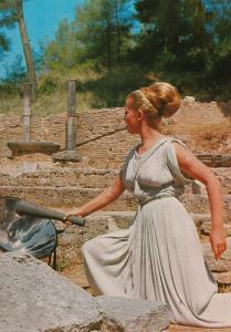 Olympia, the Olympic Flame, Greece, c. 1960s