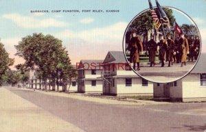 1942 BARRACKS, CAMP FUNSTON, FORT RILEY, KANSAS