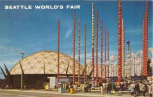 Seattle World Fair, 1962 unused Postcard