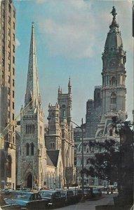 USA Postcard Philadelphia PA Arch Street United Methodist Church