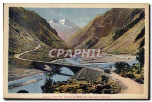 Postcard Old Valee Veneon of the Plan du Lac and F?toules