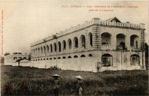 CPA AK INDOCHINA Hue Casernes de l'Infanterie coloniale VIETNAM (956654)
