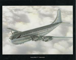 Boeing  Model 377 , Stratocruiser Airplane , 1960s