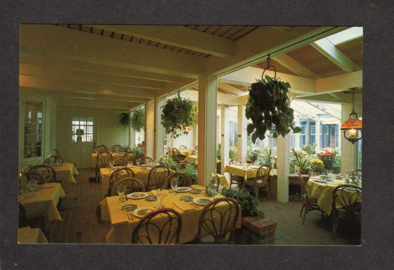 Vt The Old Tavern Dining Room Restaurant Grafton Vermont Postcard