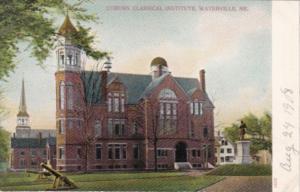 Maine Waterville The Coburn Classical Institute