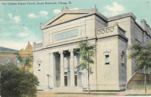 CHICAGO, Illinois, 1910 ; First Christian Church