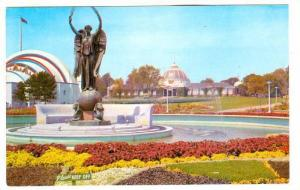 The shriner's Memorial Monument and Fountain, Toronto, Ontario, Canada,  40-60s