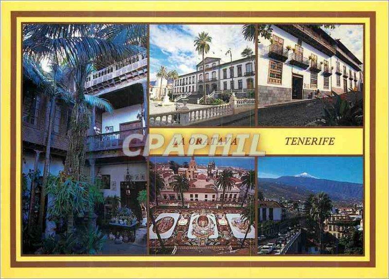 Postcard Modern Tenerife la orotava islas canaria