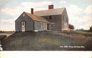 John Alden House Duxbury, Massachusetts Postcard