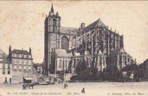 France Le Mans Abside de la Cathedrale 1913