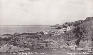The Quay Hotel Hartland Devon Real Photo Old Postcard