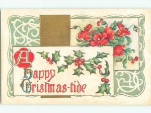 Divided-Back CHRISTMAS SCENE Great Postcard W8888