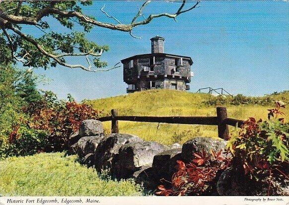Historic Fort Edgecomb Maine 1972