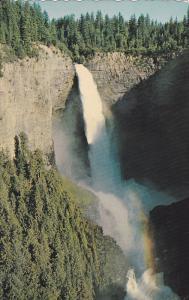 Helmcken Waterfalls, Wells Gray Park, British Columbia, Canada, 1940-1960s