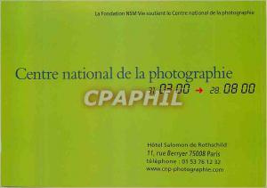 Postcard Modern National Center of Photography Hotel Salomon de Rothschild St...
