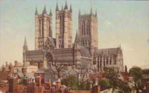Church Lincoln Cathedral England Great Northern Railway Cathedral Series