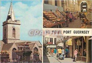 Modern Postcard St Peter Port Guernsey