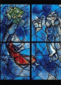 Deborah Marc Chagall's Windows, Church St Stephan Mainz