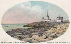 GLOUCESTER , Mass. , 1901-07 ; Eastern Point Lighthouse