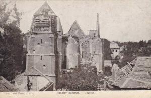 L'Eglise, Tilloloy (Somme), France, 1900-1910s