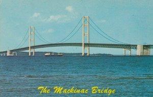 MICHIGAN, 1950-60s; The Mackinac Bridge